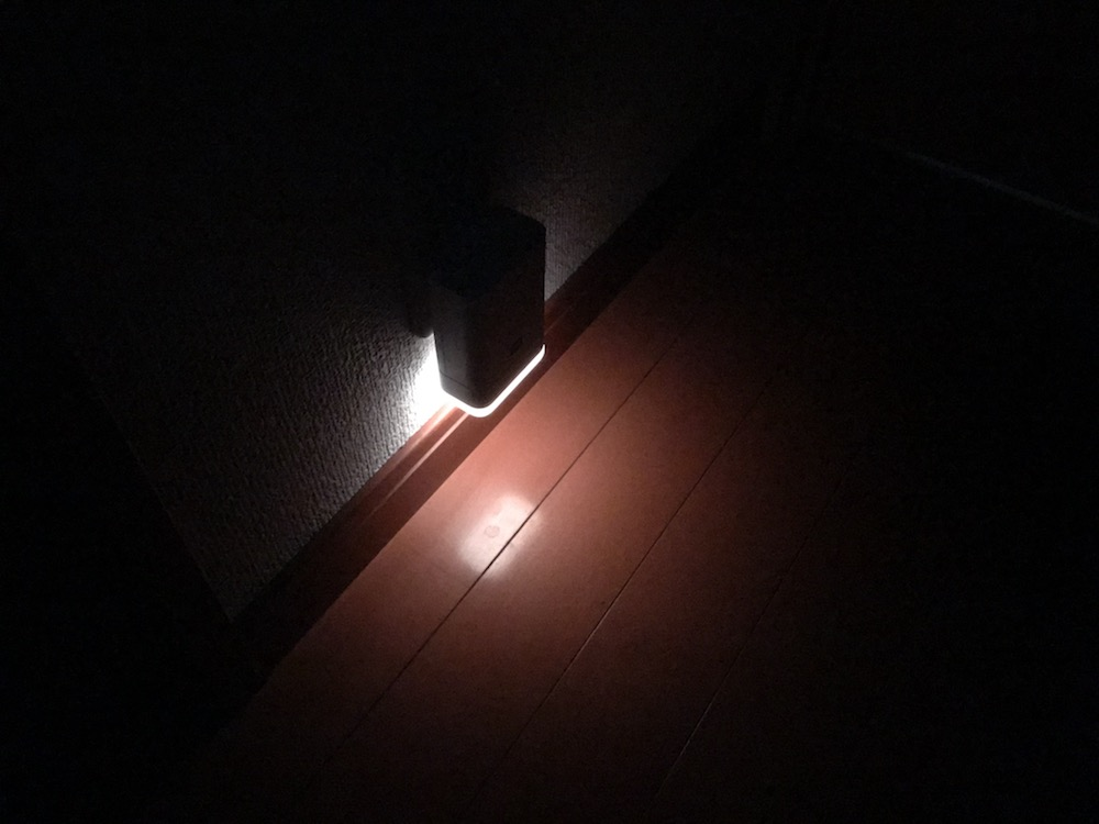 Echo Flex専用ナイトライトの明るさ