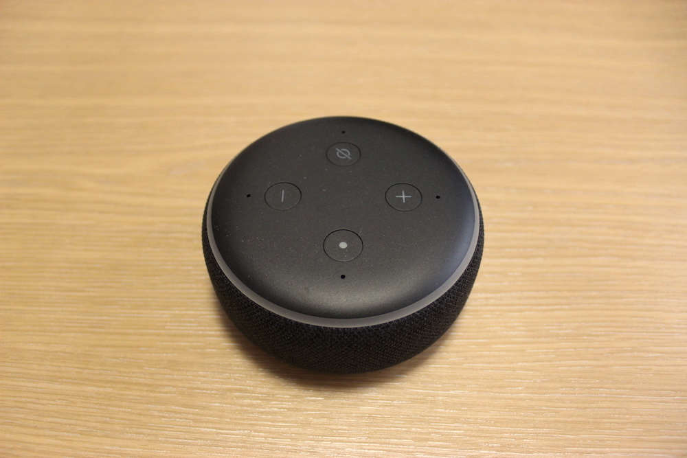 Echo Dotの音質