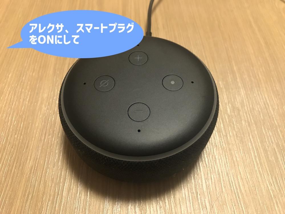 Echo Dotへ話しかける
